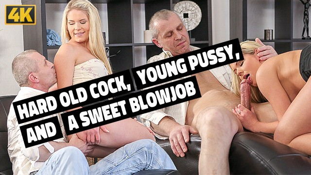 OLD4K. Bashful Claudia Mac isnt against sex with older