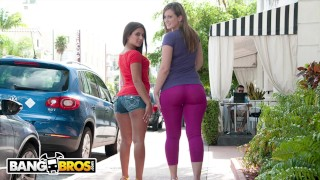 BANGBROS – Jynx Maze and Briella Bounce Bring The Heat On Ass Parade!