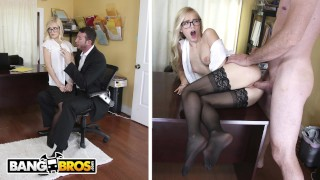 BANGBROS - Sexy Office Secretary Alex Grey Pays For Her Mistake