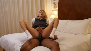 Missy Luv bbc after school (full video)