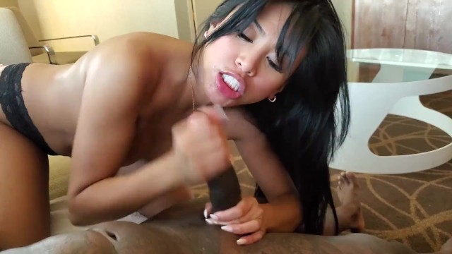 Nude showering thunbs Fucking my bbc fan w shower surprise