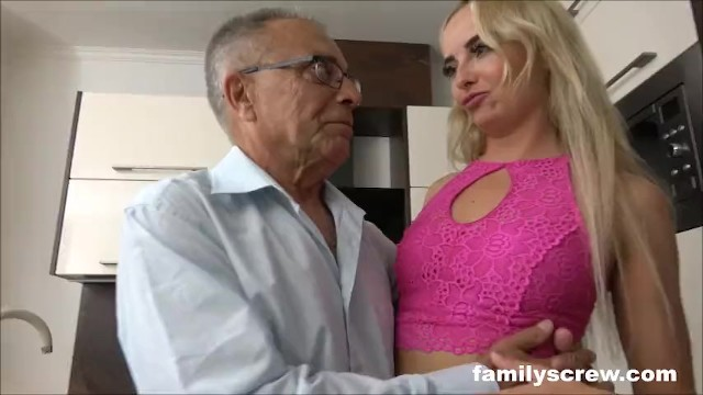 Blonde Babe Meats the Family 8