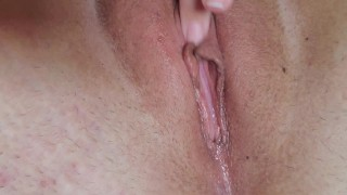 My Close Up Pussy & Clit Massage (Real Female Orgasm Contractions)