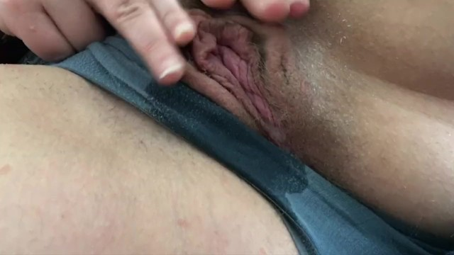 Sexy MILF rubs her clit and soaks her panties with her squirt 19