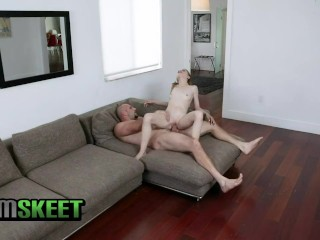 ExxxtraSmall – Petite Blonde Has Hard Rough Sex With A Huge Dick