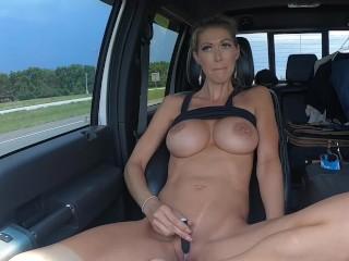 Truckers 💋 tits flashing Flashing Truckers