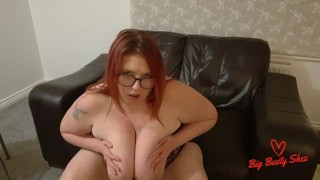 Huge tit drop and slapping them