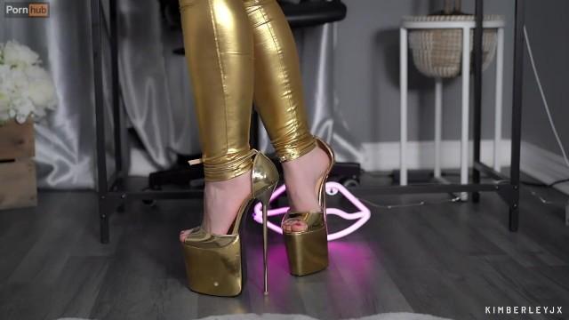 Walking in High Heels 12