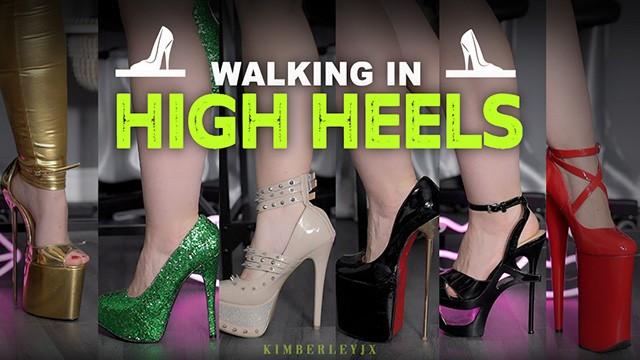 Feet;Exclusive;Verified Amateurs;Solo Female kink, footwear, high-heels, stripper-heels, platform-heels, shoes, foot-fetish, fetish, feet, feet-in-heels, open-toe-heels, walking