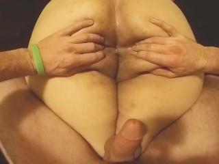 Mixed bbw booty massage ass worship fingering anal...