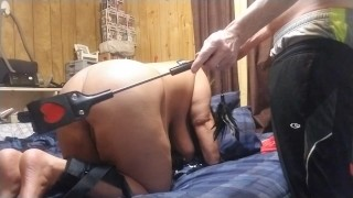 Sexy milf tied up,spanked,tickled,and fingered