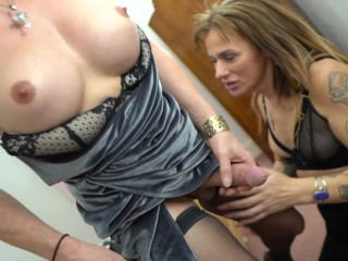 Mature ts tops younger stunning ts...
