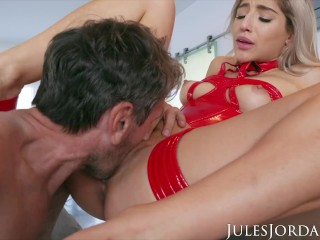 Jules Jordan - Old Man Finds His Way To Abella Danger's ASS