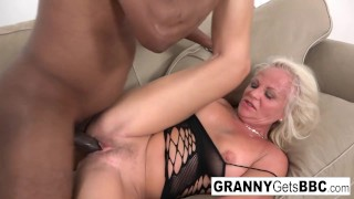 Hot interracial compilation from Granny Gets BBC