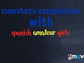 Cumshots compilation real amateur girls...