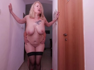 Stepmom wants to fuck again her fat boobs...