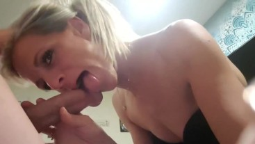 Unedited big cock in her little mouth