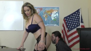 Bully Teacher - Femdom - Miss Eva Notty