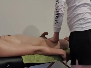 Client gets erection during massage...