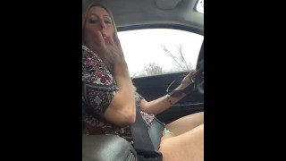 Blonde Cumming and Going! SAME TIME!!