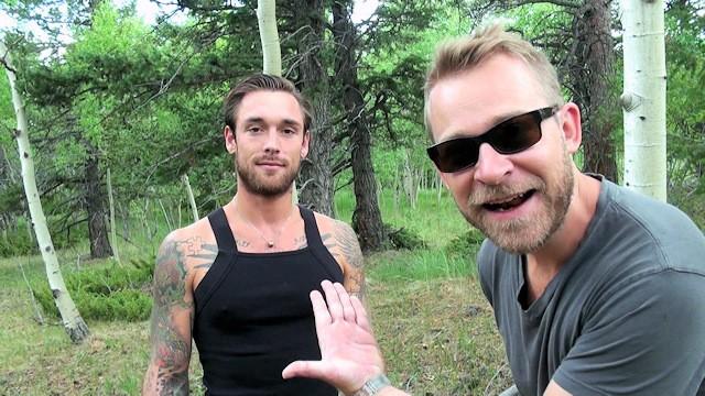 Aaron hawke gay - Biggus dickus - hung stud ethan ever takes naked hike - colorado mountains