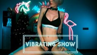 MyKinkyDope Private Webcam Show with Hitachi Magic Wand