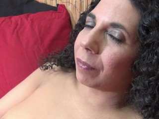 Dirty Stepmom Fingering Her MILF Pussy And Licking Her Own Fingers! SO HOT