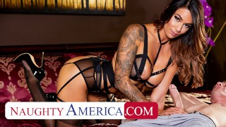 naughty america alexis zara fucks in lingerie