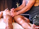 young jackson has hole and cock massaged by taboo daddyPorn Videos
