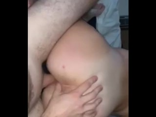 His cock...