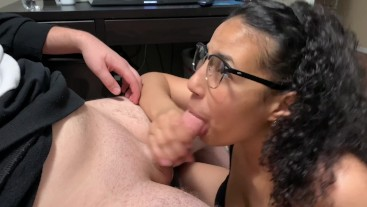 Geeky Girl Gets Her Ass Fucked And Filled With Cum