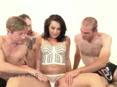 Trannypros Mind-blowing Chanel Santini Vs. 3 Dicks