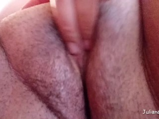 Playing with My Creamy Pussy until I Squirt | Extreme Close-up Fisting