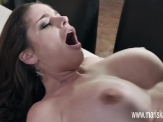MARISKAX Busty MILF Cathy Heaven takes a BBC up her ass