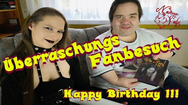 Birthday surprise dancing midgets - Birthday fun - german porn star nadine cays surprises midget fan
