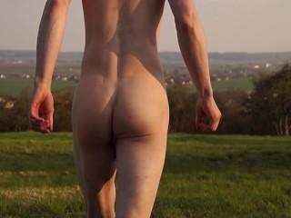 Naked run crazy video...