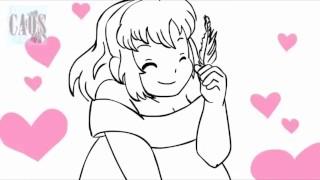 Love panic - Undertale - animatic