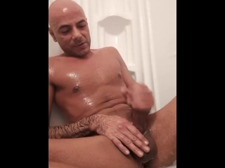 Funboyy solo series masturbation playtime in the shower...