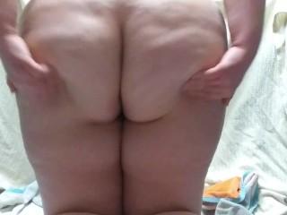Teen huge BBW ass