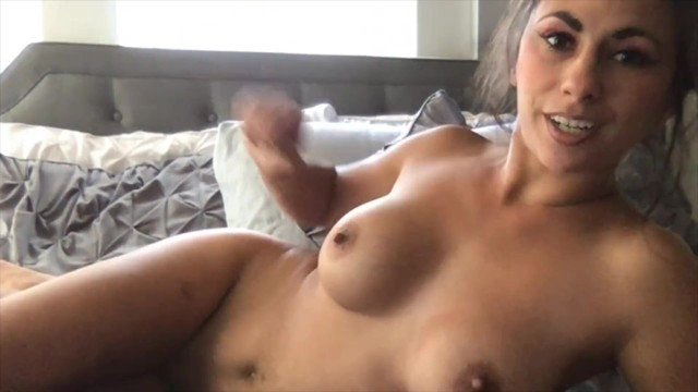 Eva Nixon has huge Squirt on Cam while lounging in bed Naked 17