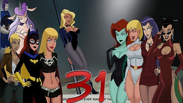 Blonde fucks brunette Lets fuck in dc comics something unlimited episode 31