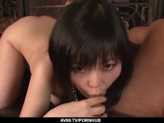 Hikaru Kirameki makes magic with how tight her pussy fe – More at 69avs com