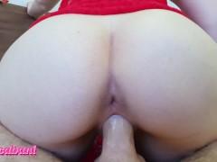 Christmas Sex + Anal Masturbation