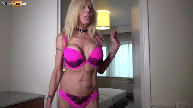 Mature Big Tit Milf Fucks Two Young Big Dicks in a Threesome 6