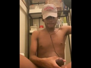 Porn makes young uncut bbc cum early...