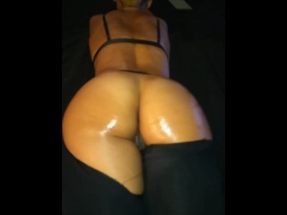 Oiled phat ass creamy cum pussy german moaning...