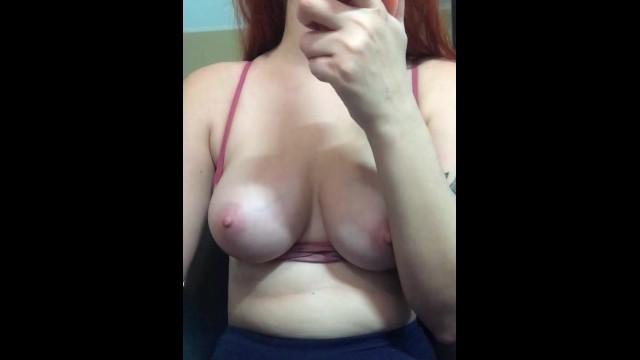 Girls tease handjobs - Webcam tease - girl suck toy and show tits