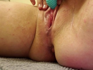 With vibrator...