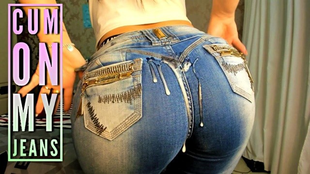 Teen girls tight jeans Hot latina tight jeans ass joi - cum on my jeans - big boobs big ass - joi