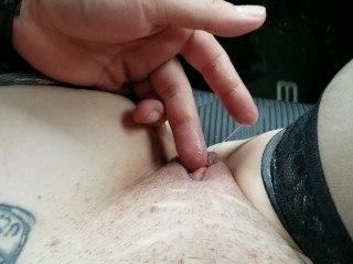 Dripping wet pussy after kissing my man for...
